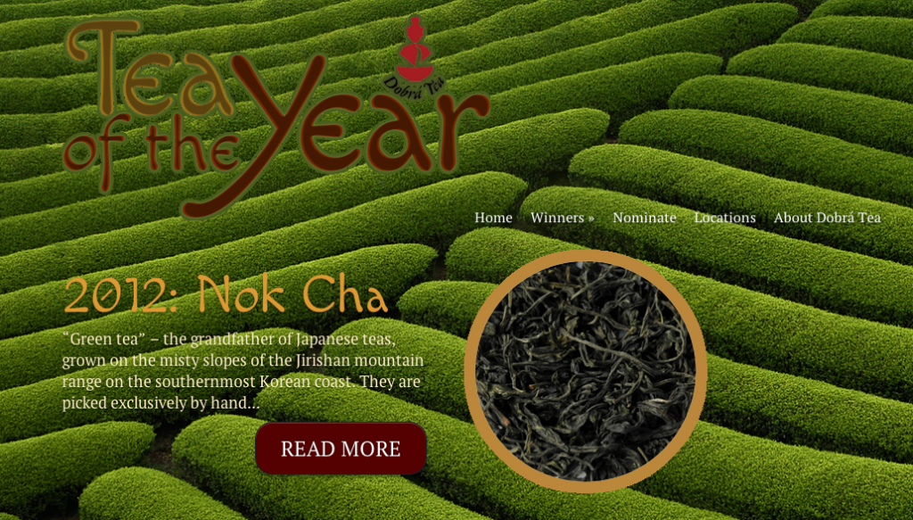 Tea of the Year